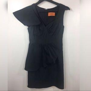 Voom by Joy Han Black Dress LBD XS